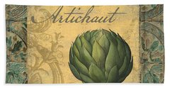 Tavolo, Italian Table, Artichoke Hand Towel