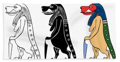 Taweret - Mythical Creature Of Ancient Egypt Bath Towel