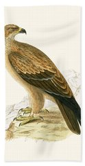Tawny Eagle Hand Towel by English School