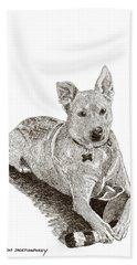 Taz  Rescue Pound Dog Hand Towel