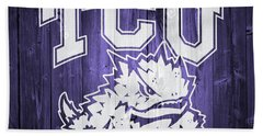 Tcu Barn Door Hand Towel
