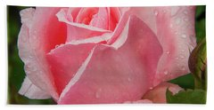Tea Rose Bath Towel