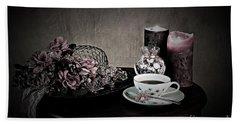 Tea Time 2nd Rendition Bath Towel