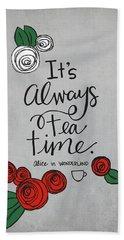 Tea Time Hand Towel