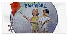 Teamwork Hand Towel