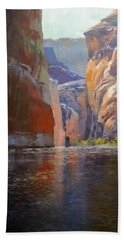 Teapot Point Colorado River Hand Towel
