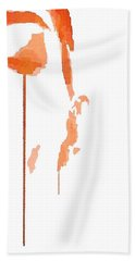 Tears Of Pain Bath Towel by ISAW Gallery