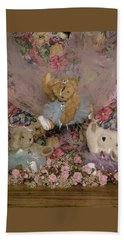 Teddy Bear Dancers Hand Towel