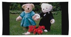 Teddy Bear Lovers Hand Towel