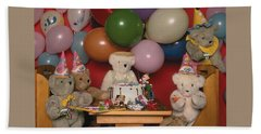 Teddy Bear Party Bath Towel