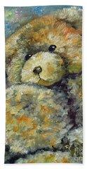 Teddy Bear Hand Towel