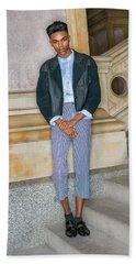 Teenage Boy Fashion 1504267 Hand Towel