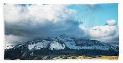 Telluride Colorado In The Fall Hand Towel