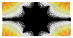Fractal 7 Center 2x3 Hand Towel