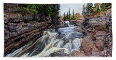 Temperance River State Park Bath Towel