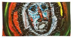 Tempest Of The Damned Bath Towel by Darrell Black