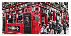 Temple Bar Pub Hand Towel