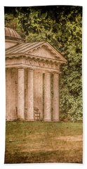 Kew Gardens, England - Temple Of Bellona Bath Towel