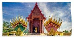 Temple Thailand Bath Towel
