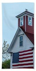Tenants Harbor Wayside Inn Hand Towel by Daniel Hebard