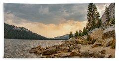 Tenaya Lake - Yosemite Hand Towel