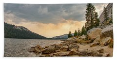 Tenaya Lake - Yosemite Bath Towel