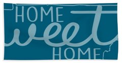 Hand Towel featuring the digital art Tennessee Home Sweet Home by Heather Applegate