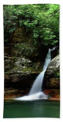 Tennessee's Blue Hole Falls Bath Towel