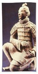 Terracotta Soldier Hand Towel