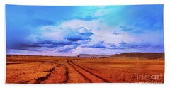 Terrain Hand Towel by Charuhas Images