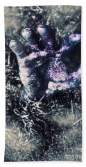 Terror From The Crypt Hand Towel