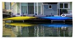 Marina Living In Victoria British Columbia 2to1 Bath Towel by Ben and Raisa Gertsberg