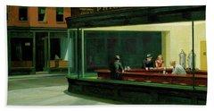 Test Tavern Bath Towel by Edward Hopper