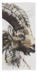 Testa Hand Towel by Mark Adlington