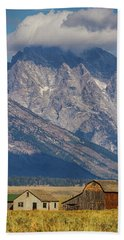 Hand Towel featuring the photograph Teton Country by James BO Insogna