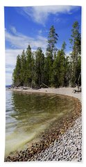 Teton Shore Bath Towel by Chad Dutson