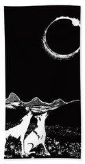Teton Total Solar Eclipse Hand Towel