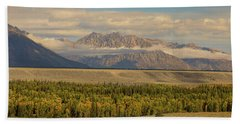 Hand Towel featuring the photograph Teton Views by James BO Insogna