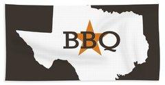 Texas Bbq Hand Towel