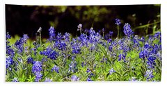Texas Bluebonnets IIi Hand Towel