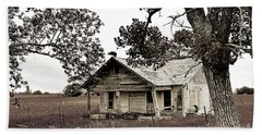 Texas Buzzard Farmhouse II Hand Towel