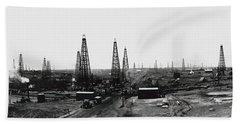 Texas Crude 1919 Hand Towel