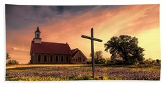 Texas Hill Country Sunset Hand Towel