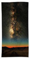 Texas Milky Way Bath Towel