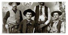 Texas Rangers C. 1890 Bath Towel