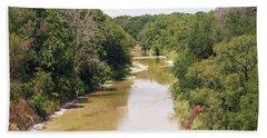 Texas River Bath Towel