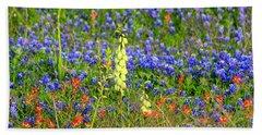 Texas Wildflowers Hand Towel