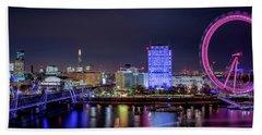 Thames Panorama Hand Towel