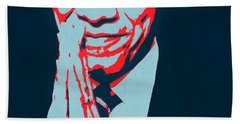 Thank You President Obama Hand Towel by Dan Sproul