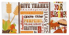 Thanksgiving Bounty Hand Towel